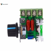 AC 220V 2000W SCR Voltage Regulator Dimming Dimmers Speed Controller Thermostat Electronic Voltage Regulator Module