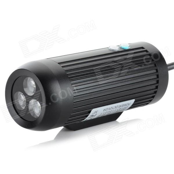 IR 940nm LED 90 Degree 6W Array Infrared 3-LED for HD AHD CVI TVI 850nm Illuminator Light IR Camera - Black (DC 12V)<br><br>Aliexpress