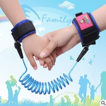 New 2016 Kids Keeper Baby Walkers Wrestling Belt Infant Wrist Safety Harnesses for Children Elastic Handle Anti-lost Belt 1PCS