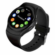 2017 No.1 G3 Smart Watch Round IPS with SIM Card Bluetooth 4.0 Heart Rate Monitor Smart Bluetooth smartWatch For IOS Android