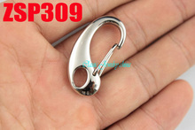 32mm 316L stainless steel Lobster clasp hook fashion jewelry accessories chain necklace parts 20pcs ZSP309(China)