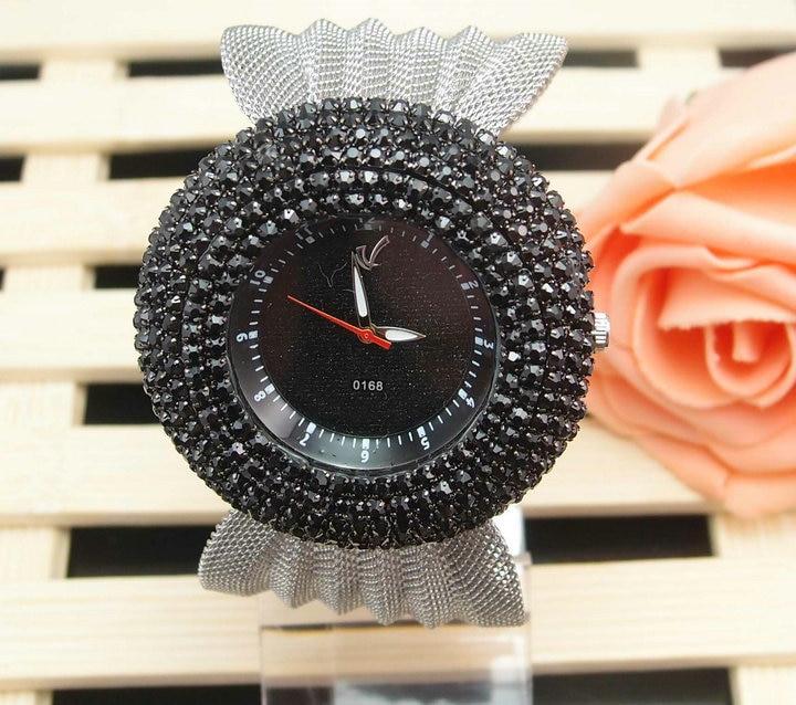 Luxury Top Quality women wacth ladies fashion crystal dress quartz wrist watch w0168<br><br>Aliexpress