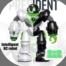 Multi-function All new intelligent remote control robot RC toys dancing Rotating light Baby toys education toy kids child gift