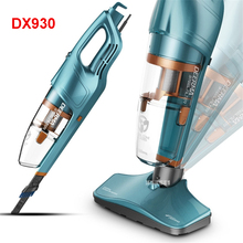 220V /50hz DX930 Vacuum cleaner household miniature ultra-quiet hand-held carpet mini high power 600W Stainless steel filter(China)