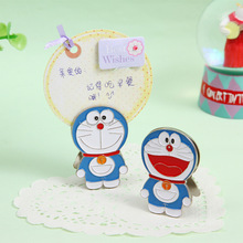 Doraemon Cat metal message Clip for Message Decoration Photo Office Supplies Accessories Free shipping
