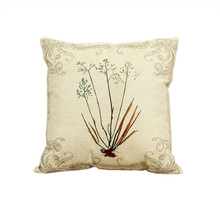 Cushion Cover Printed Pillow Case Channel Unique Sofa Pillows Cushion Cover Floral Cushion Cover Game of Thrones Pillow 45x45cm(China)