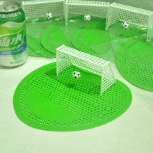 Toilet Pub Football Soccer Shoot Goal Style Kids Funny Urinal Screen Mat For Hotel Home