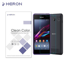 Tempered Screen Glass for Sony Xperia E1 Premium Tempered Glass Protector Film for Smartphone with Retail Package