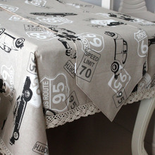 (90CM*90cm) Free shipping Brief modern fluid digital print laciness gray handmade table cloth tablecloth gremial coffee table