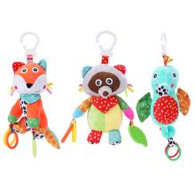 Buy Cute Baby Rattles Bell Toys Infant Cartoon Soft Rattles Stroller Music Hanging Bell Plush Toy Gift Children Early Education for $8.30 in AliExpress store