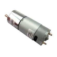 ZGB37RH 37mm 12VDC 10/15/20/30/45/50/60/80/100/120/200/300/800RPM Micro DC gear motor with eccentric output shaft large torque(China)