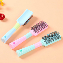 New Arrival tangle hair brush comb mix color cheap natural Massage Comb styling tools curling hairbrush