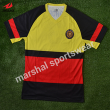 soccer shirt custom cheap election campaign high-end OEM full sublimation t shirt
