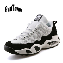 Plus Size Men Women Basketball Shoes Professional Brand Trainers Sneakers Cushion Breathable Tennis Chaussure Homme Femme 99017