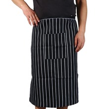 Fashion New Arrival Stripe half Apron With Chef Waiter Kitchen Cook Men Women Cooking Aprons with 1 Pocket