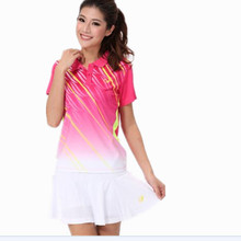 Qiaoyue Sports Jersey Women Badminton T Shirt Female Table Tennis Jersey Clothes Girls Quick Dry Fitness Breathable Outdoor 2017