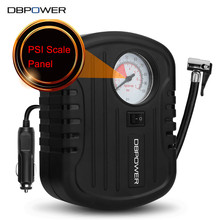 DBPOWER C01 12V DC Portable Electric Auto Air Compressor Tire Inflator Pump Compressore 2.5M Power Cord Cigarette Lighter Plug(China)