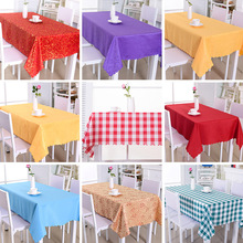 Hotel Home Office Table Cloth Hotel Restaurant Rectangular Coffee Table Tablecloth Square Simple Tablecloth jj087