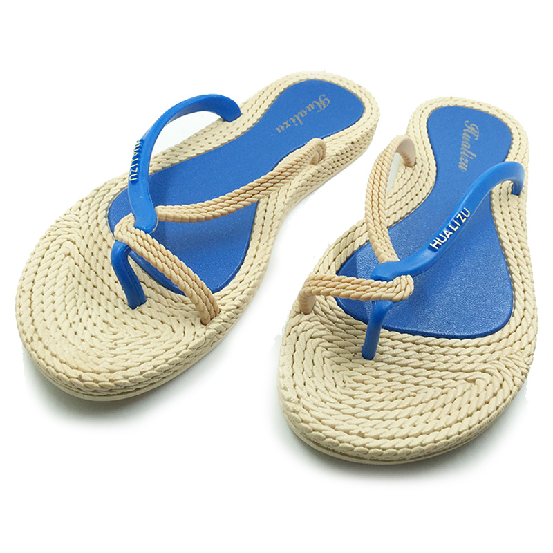 New 2016 Shoes Woman Sandals Lovely Knot Jelly Shoes Solid Casual Slides Summer Style Sandalias Fashion Flats Slippers<br><br>Aliexpress