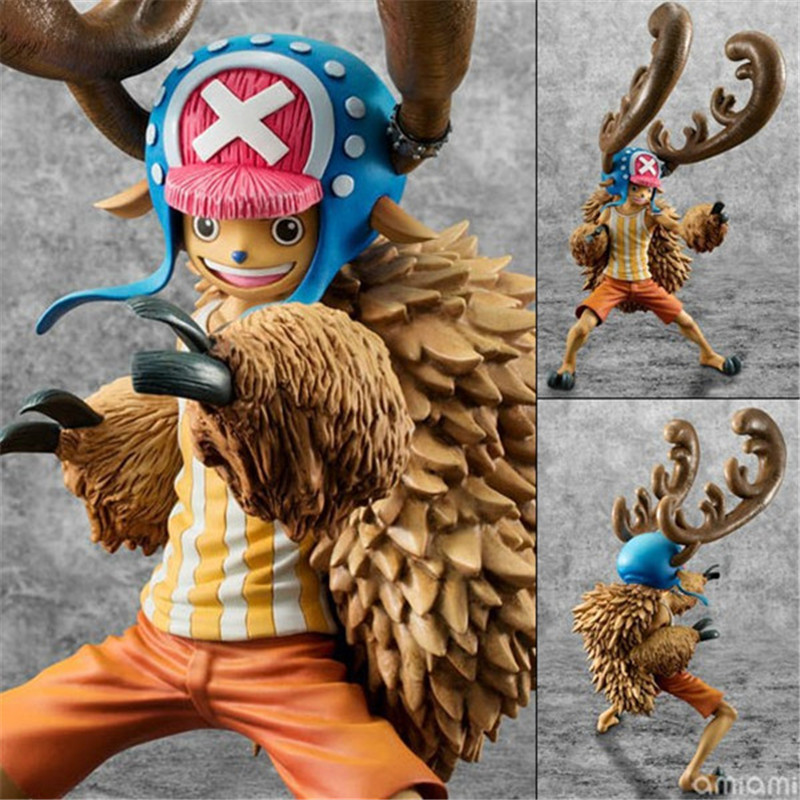 Anime One Piece Figuras Toys Tony Chopper PVC Action Figures Model Dolls Brinquedos Gift for Kids Friends 23cm<br><br>Aliexpress