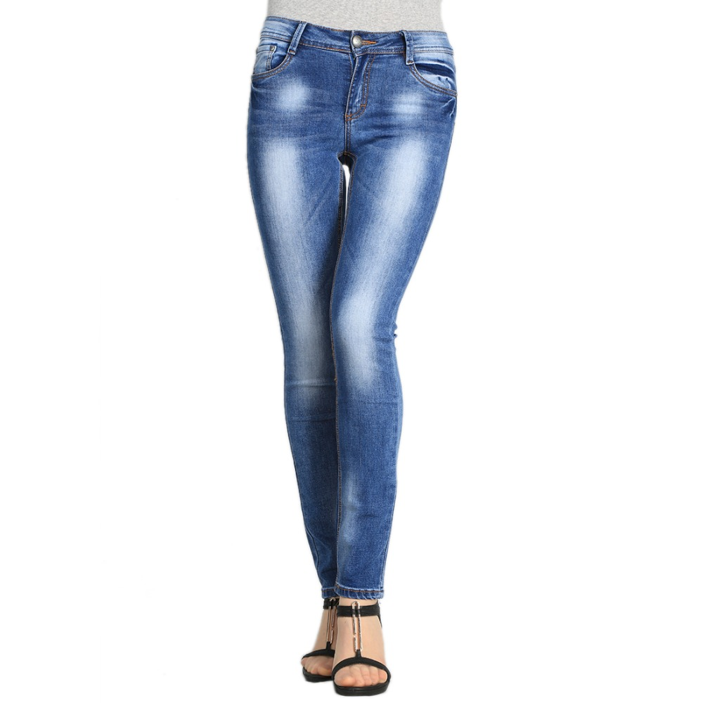New Spring Women Jeans  Slim Fit  Jeans Women Classic Designer Fashion Jeans Large Size 25-30 W204Одежда и ак�е��уары<br><br><br>Aliexpress
