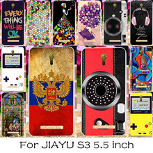 TAOYUNXI Silicone Phone Cover Case For JIAYU S3 Mobile Phone Bag Cover For JIAYU S3 Russia National Flag Cover Skin(China)