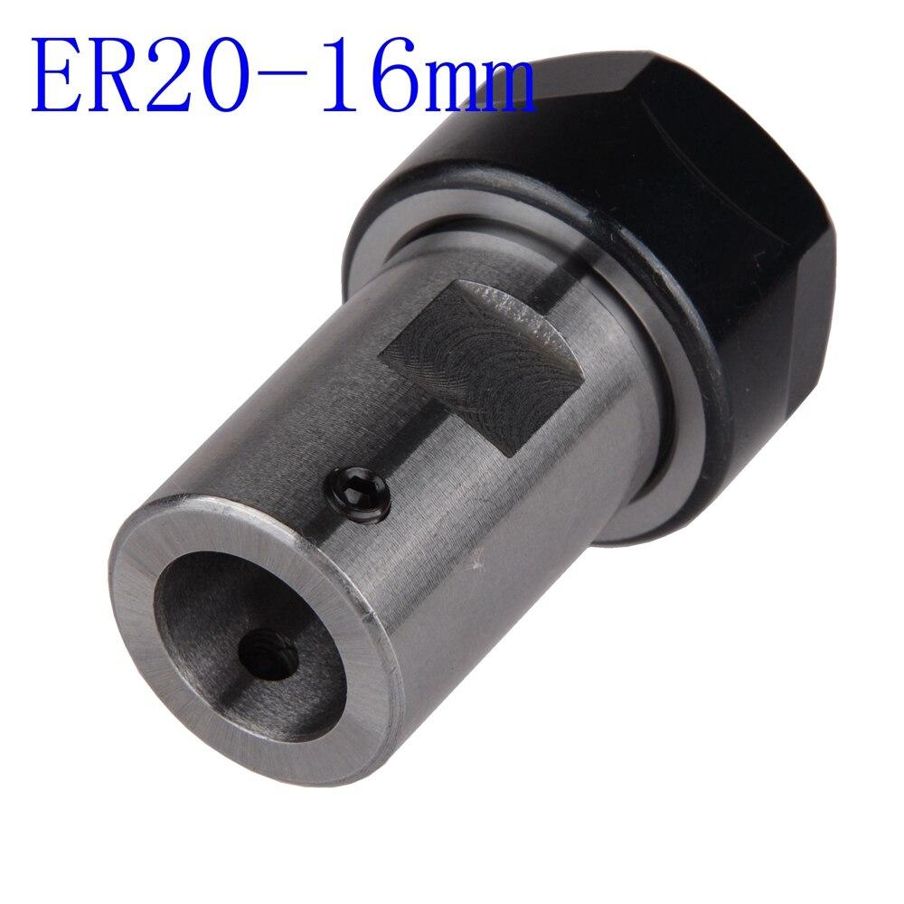 ER20A 8mm Collet Motor Shaft Extension Rod /& 13Pcs Spring Collet Set