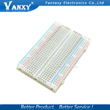1PCS 400 Points Solderless Bread Board Breadboard PCB Test Board Free shipping(China)