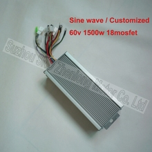 60V 1500W 18 mosfet sine wave motor controller/ high quality e-scooter controller can make to order G-K119