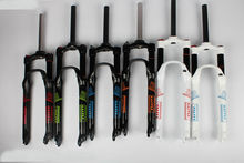 lutu fork  bicycle gas. MTB suspension fork. Double chamber ultra light 26/27.5/29er 100MM travel. 32mm clarinet.PK rock shox