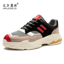 Mens Tennis Shoes Brand Hot Sale Color Stitching Outdoor Sport Sneakers Damping Cushioning Athletic Homme Tenis Gym Shoes Man(China)