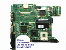 For HP DV6000 Laptop Motherboard 460900-001 G86-730-A2 DDR2 DA0AT3MB8F0 100% Good Qulity