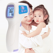Baby Electronic Digital Thermometer Infrared Forehead Body Thermometro Gun Non-contact diagnostic-tool thermometers for body(China)