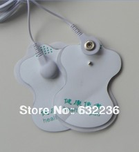 Health care 50pcs/lot good quality white Electrode Pads for ems Tens Acupuncture patch Digital Therapy Machine Massager