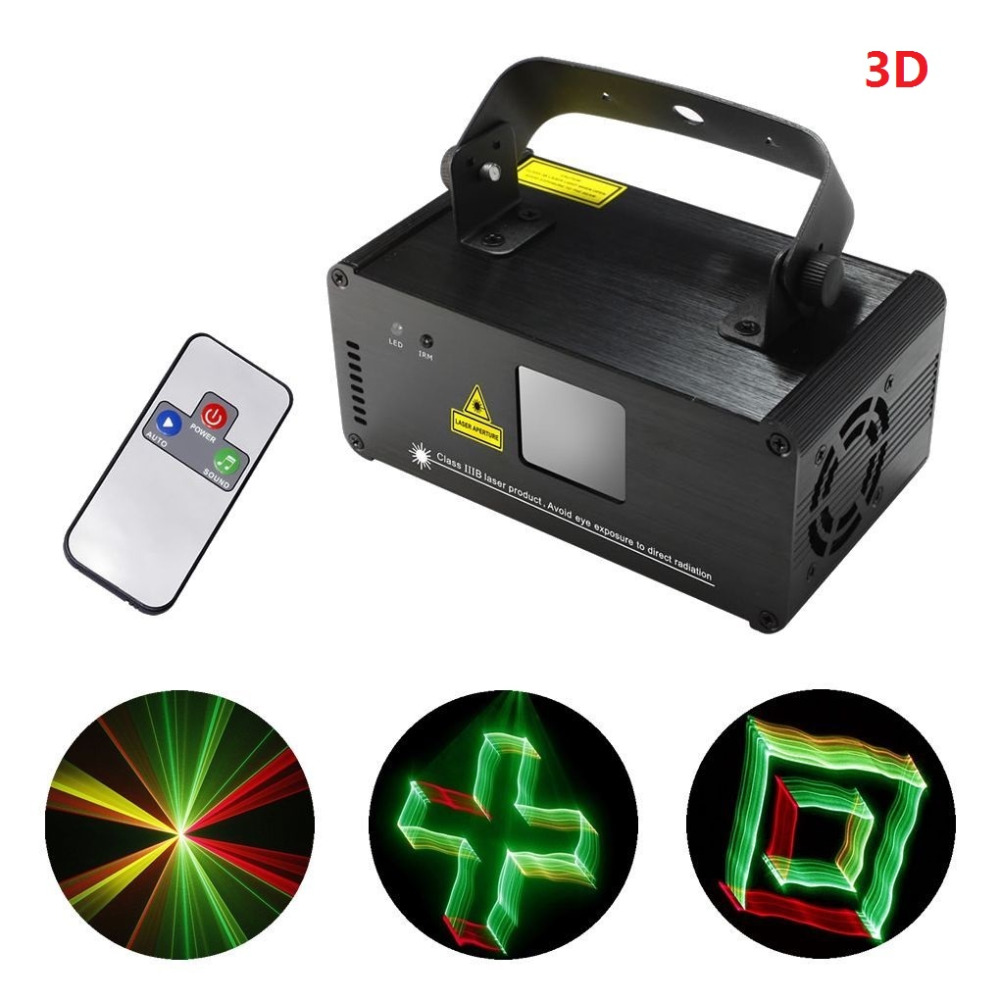 3D DMX512 Effects RGY Red Green Yellow Laser Scanner Projector Full Light DJ Disco Party Xmas Professional Stage Lighting show<br><br>Aliexpress