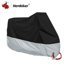 HEROBIKER Motorcycle Cover Outdoor Indoor Motorcycle Cruisers Street Sport Bikes Cover UV Protective Motorcycle Rain Cover(China)