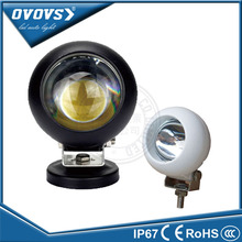 OVOVS Factory prices 25W 12V Round COB Spot beam LED Work Light Off Road for 4x4 Boat  ATV trucks