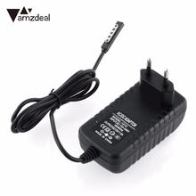 amzdeal EU plug Tablet Wall Charger For Microsoft Surface RT 10.6 Tablet Travel Power Adapter DC 12V 2A 1.2m Cable