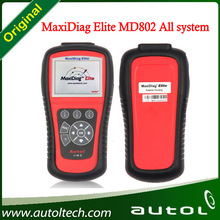 100% Original Autel MaxiDiag Elite MD802 All System+DS Model Free Update Online for Sale MD 802 Autel