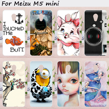 Mobile Phone Cases Meizu M5 Mini Cover Meilan 5 Meilan5 Case Hard Plastic Soft TPU Back Skin Shell Hood Housing Bags - ShenZhen W&T Technology Co., LTD store