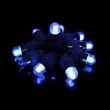 Mini Blue LED 40pcs Submersible Waterproof LED Mini Lights for Wedding Party Floral Balloons