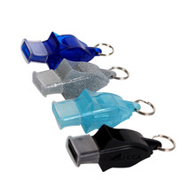 Basketball Voleyball Rugby Hockey Football Soccer Referee Whistle Plastic Outdoor Camping Emergency Survival Whistle Referee Kit