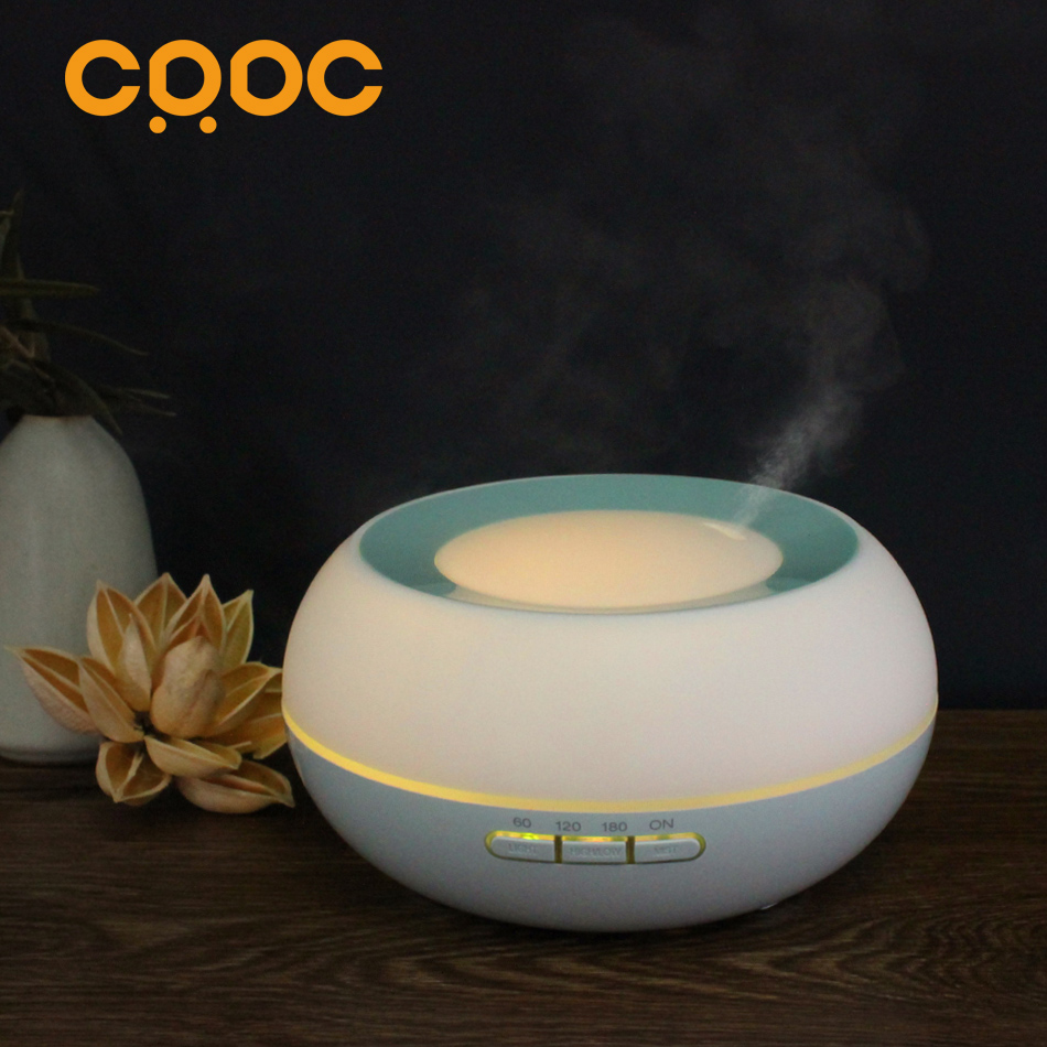 CRDC 300ml  Essential Oil Diffuser Air Humidifier Aroma Lamp Aromatherapy Electric Aroma Diffuser Mist Maker for Home&amp;office<br>