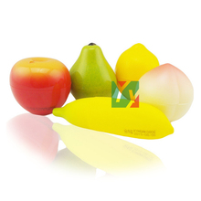 Fruit moisturizing anti wrinkle Hand Cream Apple & Pear & Lemon & Peach & banana 5 type/set Christmas Gift!(China)