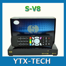 Original S-V8 1080P FTA satellite tv receiver Support youtube card sharing Web TV Weather Forecast S V8 Openbox V8s(China)