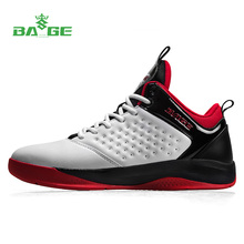 BAGE size 39-45 Basketball shoes men Winter warm sports boots  PU sneakers men Height upper athletic shoes