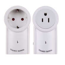 120V/60Hz 2 Pack Remote Control Wireless Power Outlets Light Switch Socket US EU Plug For Indoor