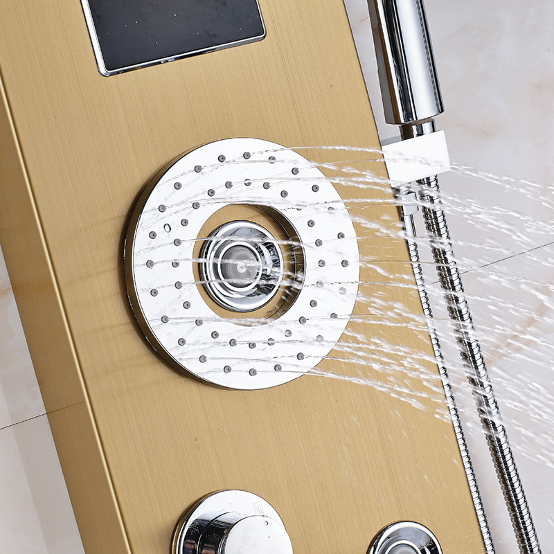 Quyanre-Golden-Shower-Panel-Column-LED-Rainfall-Waterfall-Shower-Head-Digital-Shower-Tub-Spout-Massage-jets (1)