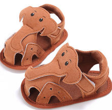 First Walkers Newborn Baby Girls 0-18M BoysHot Cute  Shoes light elephant summer infants Hot First Walkers