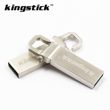 Classical Metal USB Flash Drives 32gb Key Chain Pendrives U stick 64GB 4GB Thumbdrive 8GB 16gb pen drive USB 2.0(China)